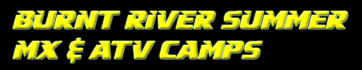 Burnt River Summer Camps Schedule